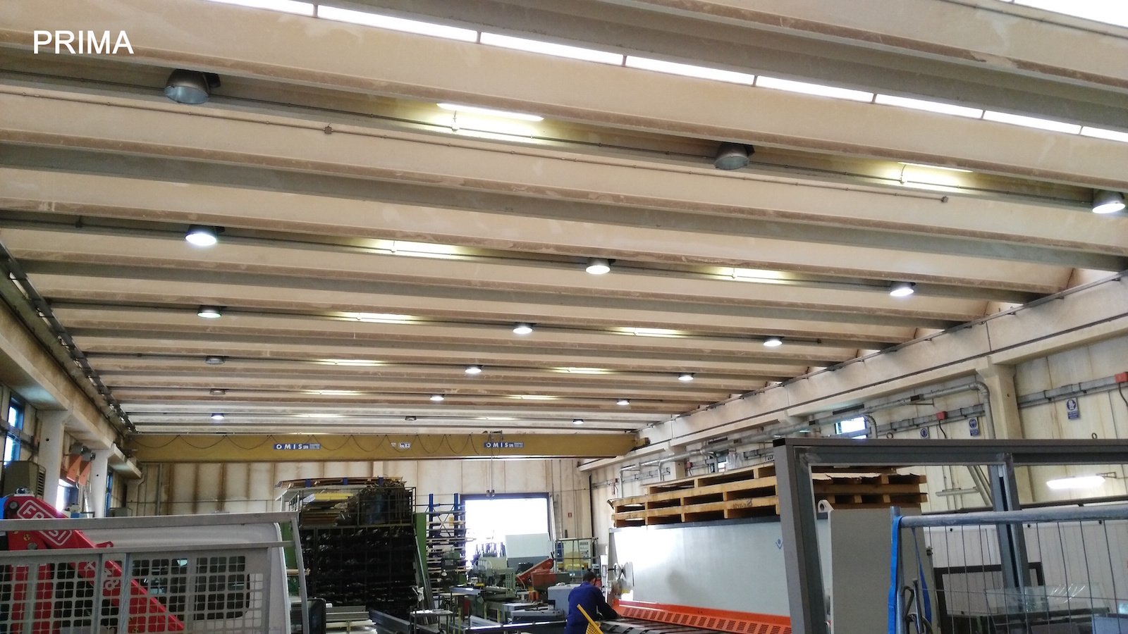 Plafoniera Officina : Plafoniera led officina powrgard