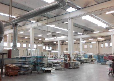 Industria lavorazione materie plastiche